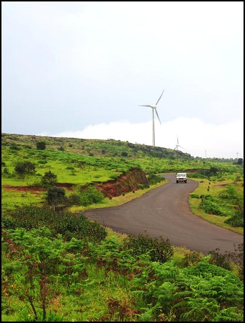 Windmills in Chalkewadi, Satara