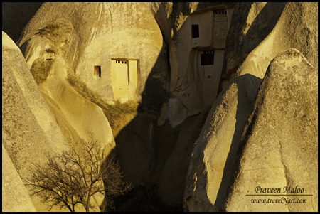 Cave houses in Goreme