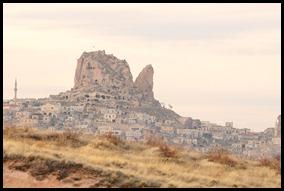 Panaromic view of Uchisar