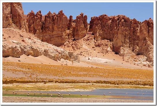 The spectacular Salar de Tara, Atacama desert, Chile