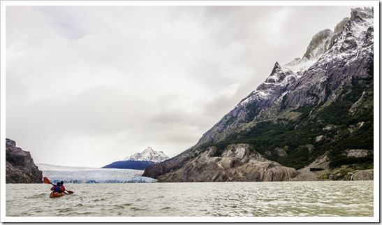 Kayaking to the base of the Grey glacier is not to be missed
