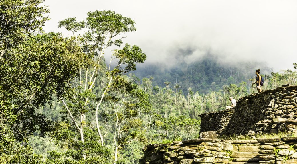 Hiking through the jungles of Colombia to the lost city of the Tayrona people
